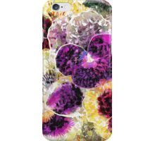 Pretty Pansies iPhone Case/Skin