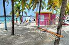 """Gloria's Place"" on Junkanoo Beach in Nassau, The Bahamas by Jeremy Lavender Photography"