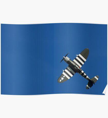 P-47 Thunderbolt @ Goodwood Revival 2012 Poster