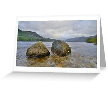 The Lake District: Millenium Stone Greeting Card