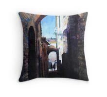 Untitled 4 - città toscane Throw Pillow