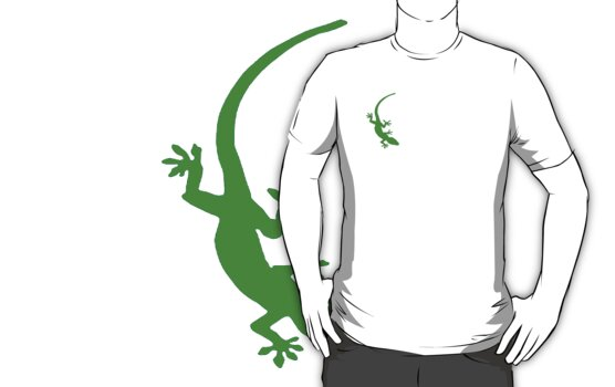 green geko by artvagabond