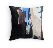 Untitled 6 - città toscane Throw Pillow