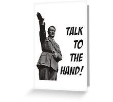 Hitler funny Greeting Card