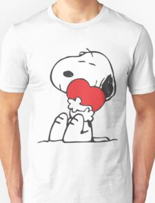 Snoopy Shares Love T-Shirt