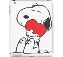 Snoopy Shares Love iPad Case/Skin