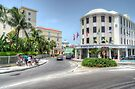Entering Downtown Nassau from the West in The Bahamas by Jeremy Lavender Photography