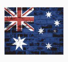 Australia Flag Vintage One Piece - Long Sleeve