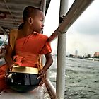 River crossing to Wat Arun by Chris Perry