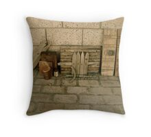 Art in Everything Throw Pillow