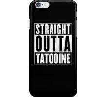STRAIGHT OUTTA COMPTON - TATOOINE - STAR WARS  iPhone Case/Skin