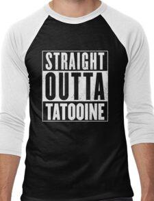 STRAIGHT OUTTA COMPTON - TATOOINE - STAR WARS  Men's Baseball ¾ T-Shirt