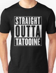 STRAIGHT OUTTA COMPTON - TATOOINE - STAR WARS  T-Shirt