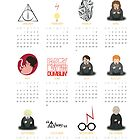 Harry Potter Calendar 2013 by EF Fandom Design