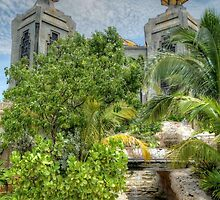 The water park at Atlantis in Paradise Island, The Bahamas by Jeremy Lavender Photography