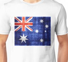 Australia Flag Vintage Unisex T-Shirt