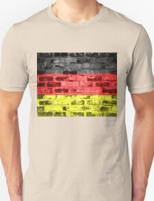 Germany Flag Vintage Unisex T-Shirt