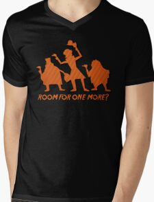 Haunted Mansion Hitchhiking Ghosts Mens V-Neck T-Shirt