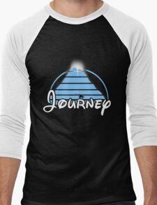 Journey (Disney Style) (Bright Blue) Men's Baseball ¾ T-Shirt