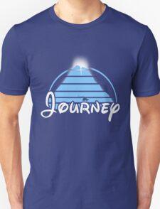 Journey (Disney Style) (Bright Blue) T-Shirt