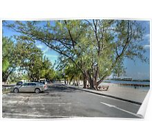 Montagu Beach in Eastern Nassau, The Bahamas Poster