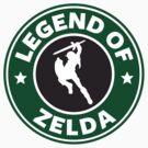 The Legend of Zelda Starbucks Edition by Connie Treanor