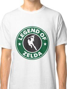 The Legend of Zelda Starbucks Edition Classic T-Shirt