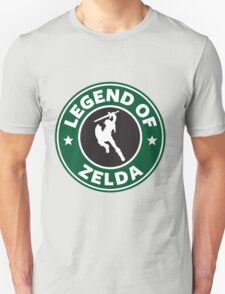 The Legend of Zelda Starbucks Edition Unisex T-Shirt