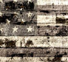 Old American Flag Sticker