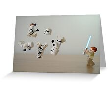 Jedi Circus Greeting Card