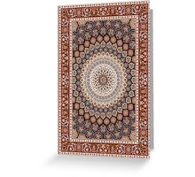 Oriental Graphic Art Greeting Card