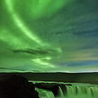 Swirling Sky, Churning Waterfall by Kristin Repsher