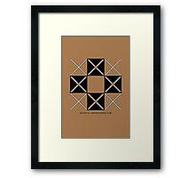 Design 216 Framed Print