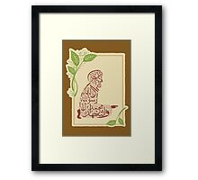 Oriental Islamic Art Framed Print
