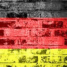 Germany Flag Vintage by Nhan Ngo
