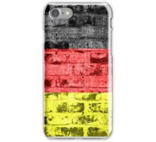 Germany Flag Vintage iPhone Case/Skin