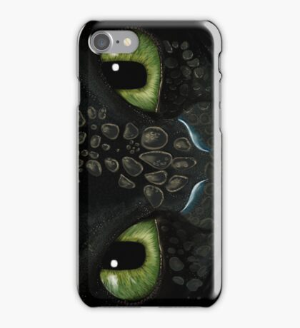 Toothless phone case  iPhone Case/Skin