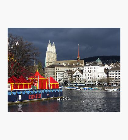 Dull weather day Photographic Print