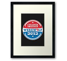 YES LYCANS Framed Print