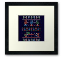 Wool is Cool. Special Christmas Ugly Sweater Framed Print