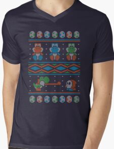 Wool is Cool. Special Christmas Ugly Sweater Mens V-Neck T-Shirt