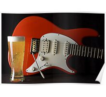 Silvertone and a Beer Poster