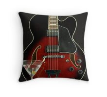 Hollow Body and Martini Throw Pillow