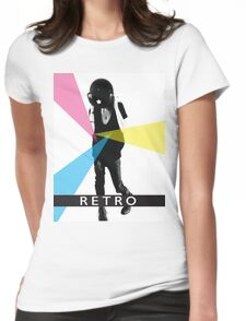Retrospective Womens Fitted T-Shirt