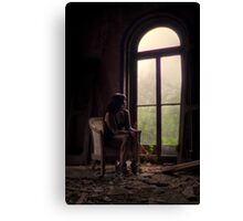 Self Portrait- Abandoned Mansion Canvas Print