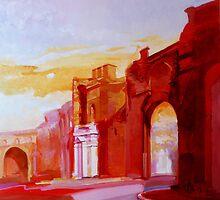 Portale di Porta Pinciana    by giorgiusmiron