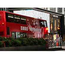 City Bus  Photographic Print