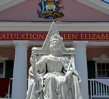 Queen Victoria Statue at Government House in Nassau, The Bahamas by 242Digital