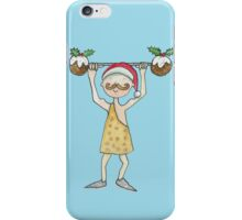 Christmas Strongman  iPhone Case/Skin