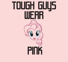 Tough Guys Wear Pink by wittlewoona